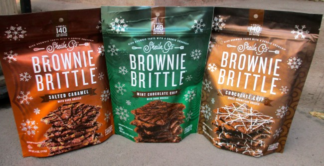Brownie Brittle Packaging