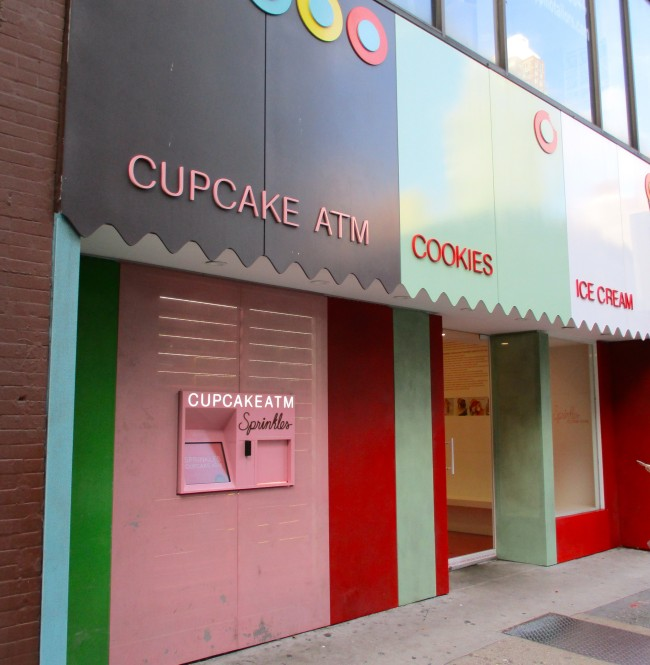Cupcake ATM and Storefront