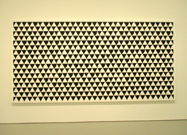 Bridget Riley Black and White Long