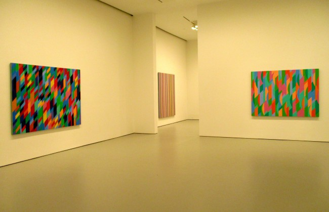 Bridget Riley Installation View