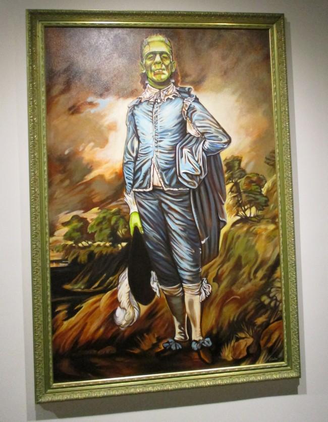 Frankenstein's Blue Boy