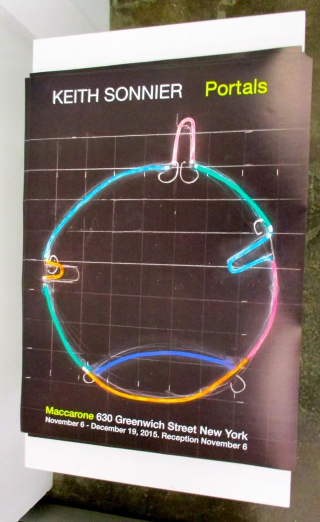 Keith Sonnier Portals Poster