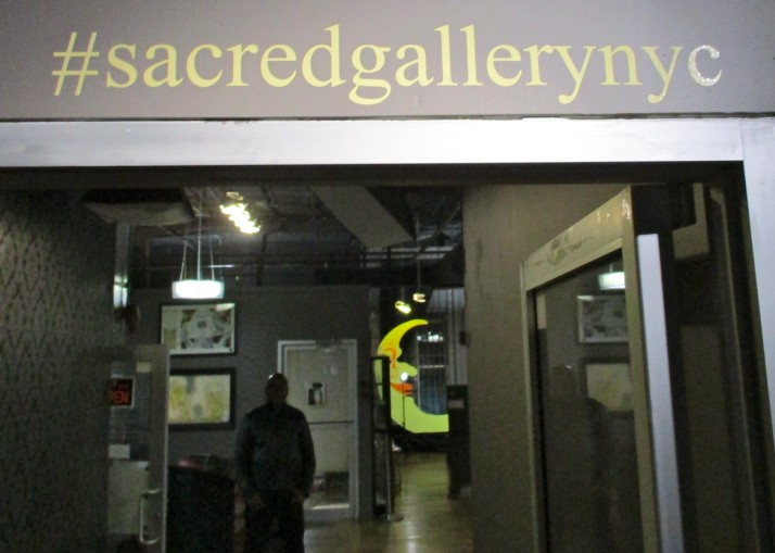 Sacred Gallery Hashtag