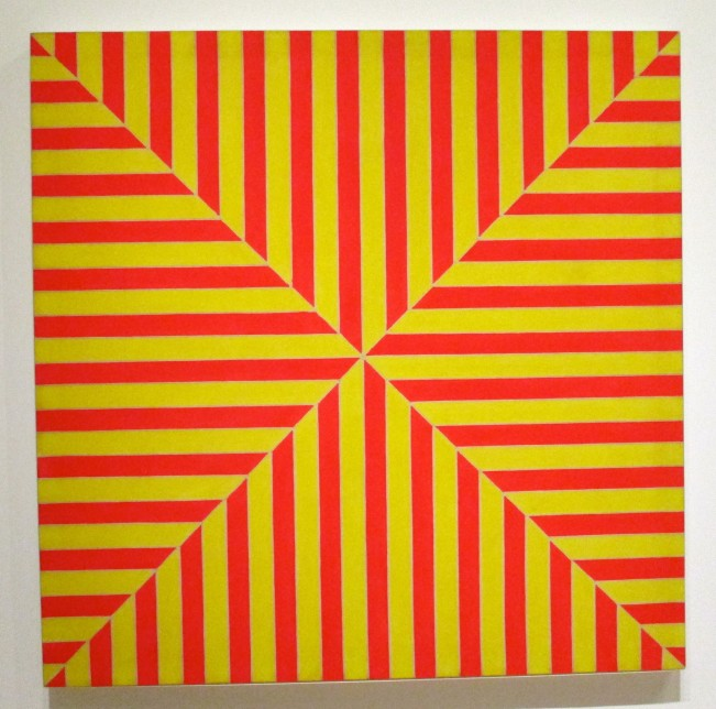 Red and Yellow Square