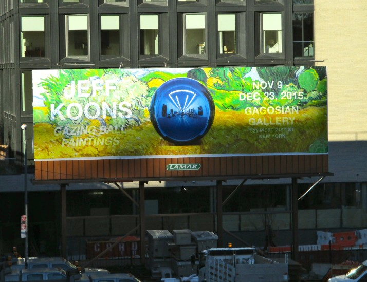 Gazing Ball Billboard