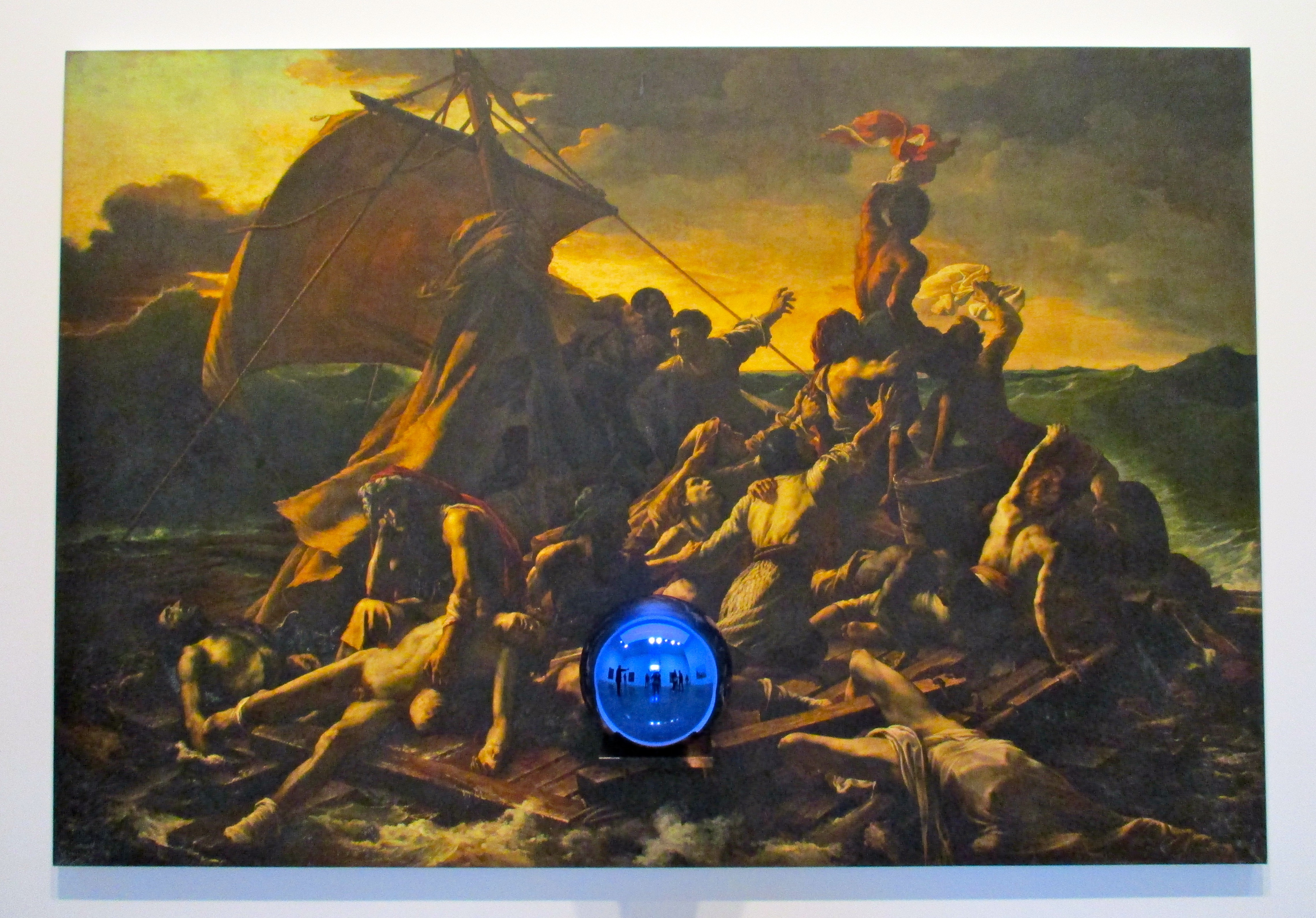 Jeff Koons Gazing Ball Paintings at Gagosian Gallery | The ...