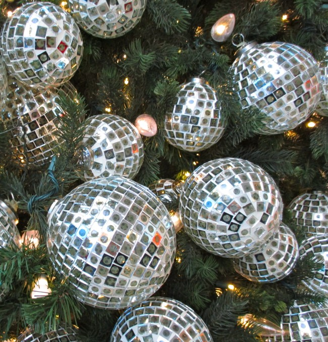 Mirrorball Ornaments 3
