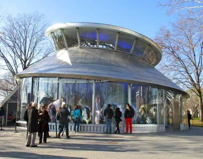 Seaglass Carousel Exterior