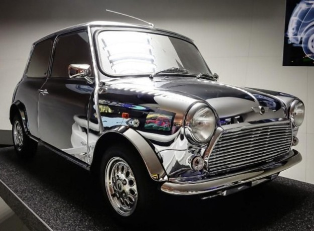 Bowie Mirrored Mini Car