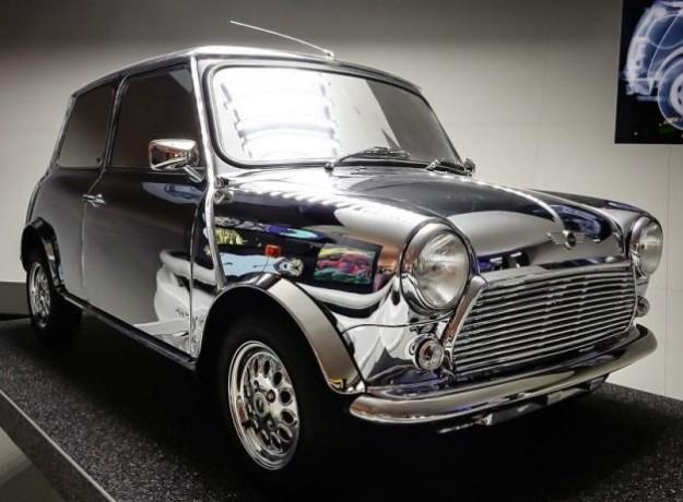 Bowie Mirrored Mini Car
