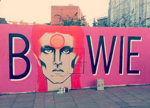 David Bowie Mural Dublin