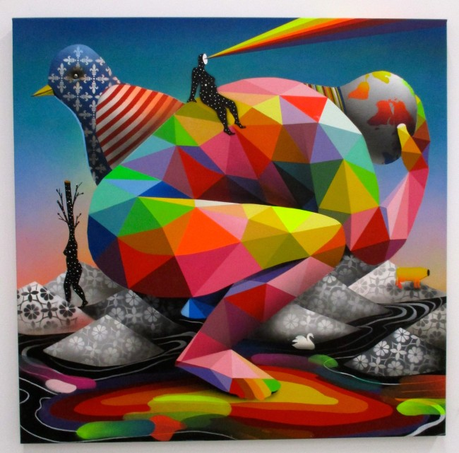 Reflections of God By Okuda