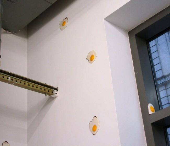 Eggs Near Ceiling