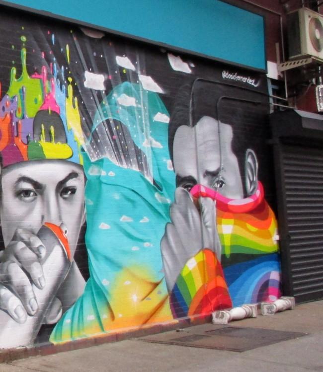 Dasic Fernandez Mural Chelsea