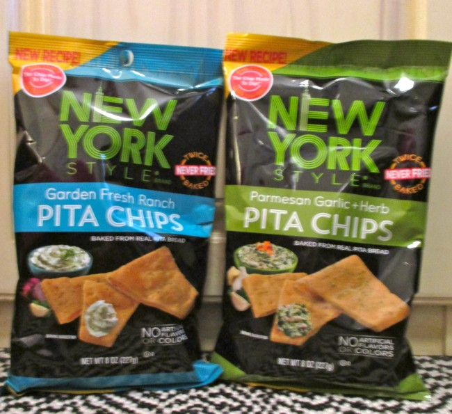 New York Style Pita Chips Bags