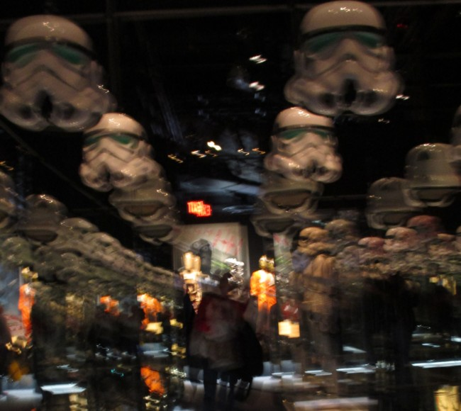 Room of Stormtrooper Helmets