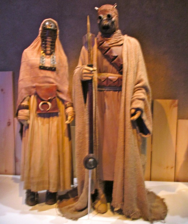 Tusken Raider Female and Male Costumes