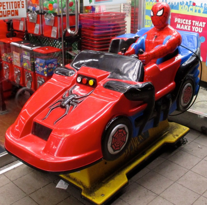 Spiderman Kiddie Ride2