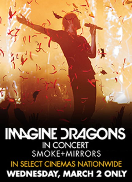 Imagine Dragons Smoke and Mirrors Poster