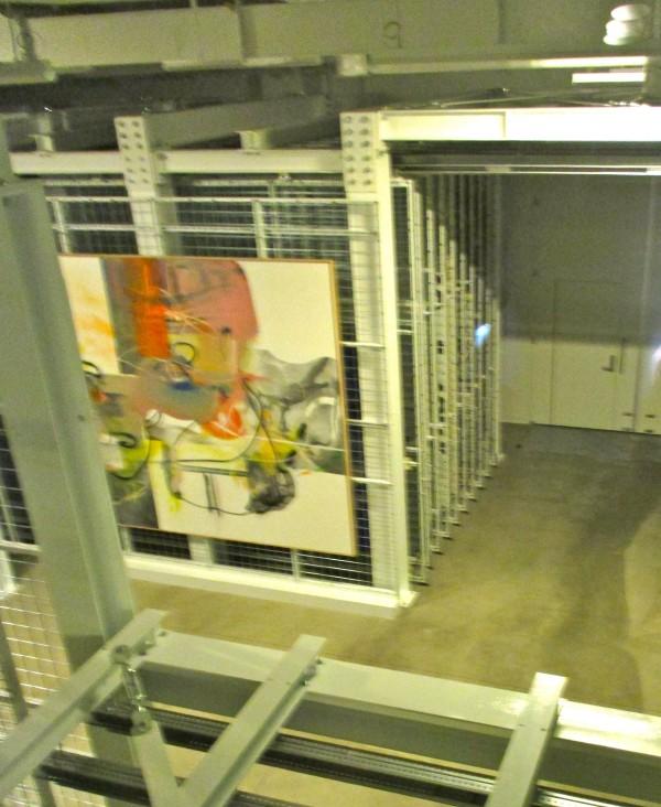 Broad Storage Floor Window