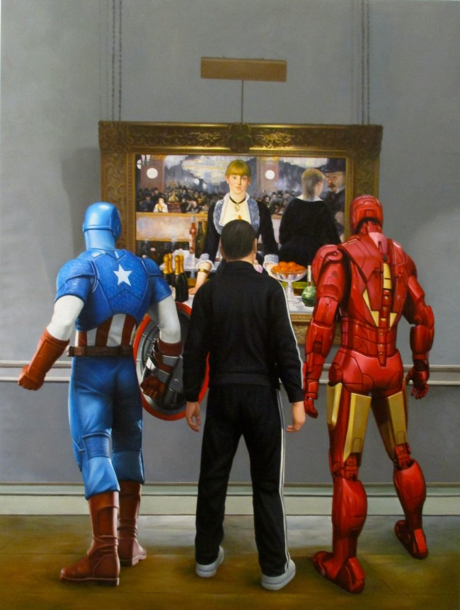 Ironman, Captain America, and a Russian Mobster Walk Into a Bar