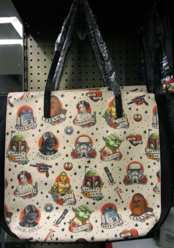 Ed Hardy Star Wars Character Tote Bag