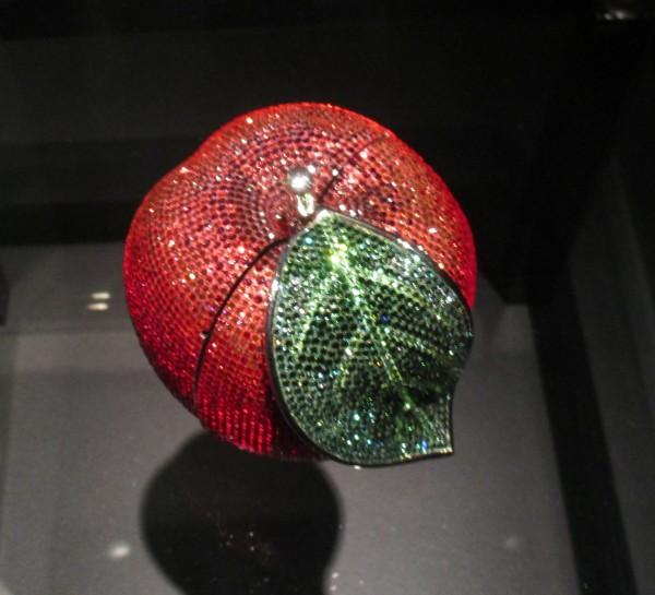 Crystal Apple Handbag