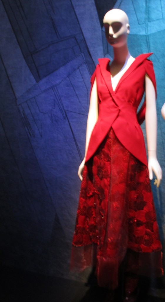 Rodarte Ruby Gown
