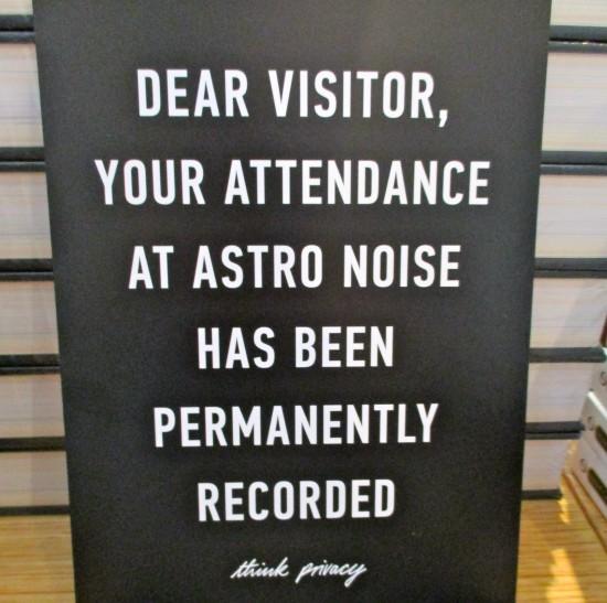 Astro Noise Postcard
