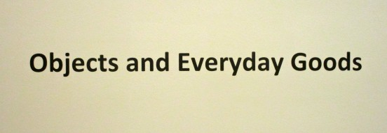 Objects and Everyday Goods Signage
