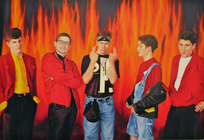 NKOTB in Hell