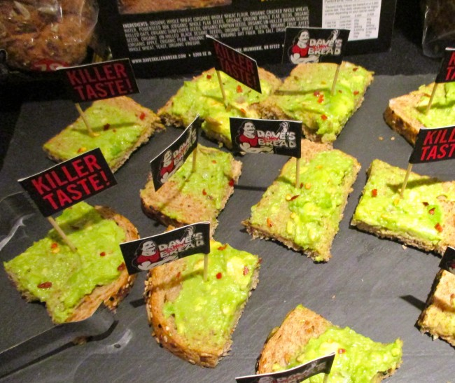 Dave's Bread Avocado Toast