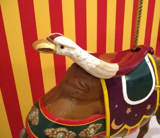 Eagle Seat Detail