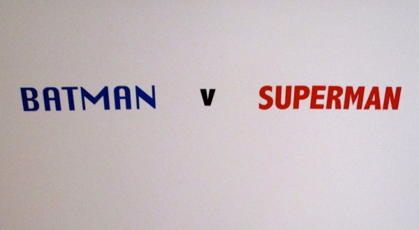 Batman V Superman Signage
