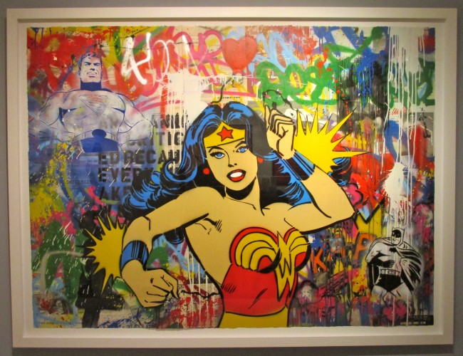 Wonder Woman By Mr Brainwash