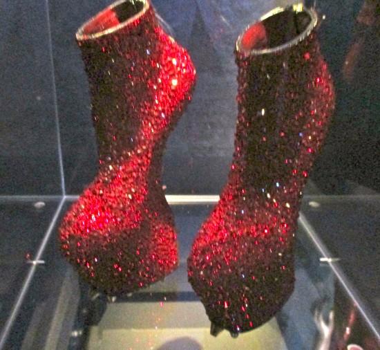 Noritaka Crystal Rose Shoes