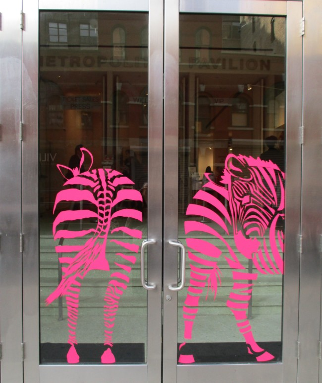 Pink Zebra Butts