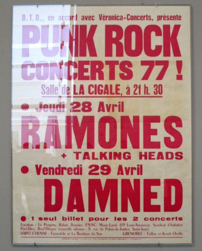 Ramones and The Damned