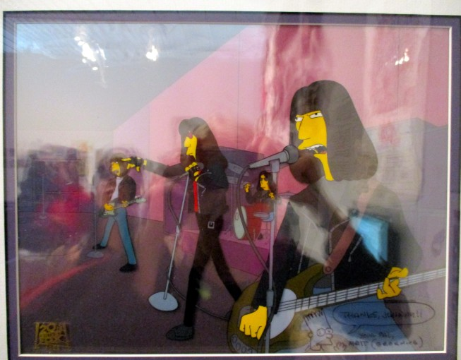 Ramones on the Simpsons