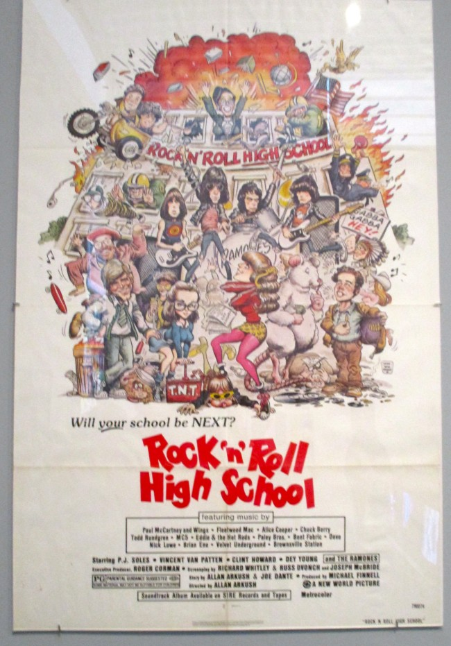 Rock N Roll High School Poster