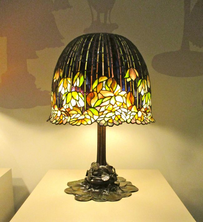 Pond Lily Library Lamp