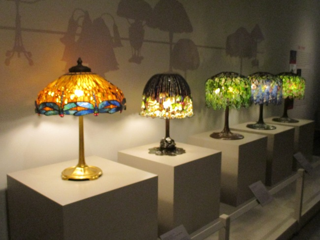 Row of Table Lamps
