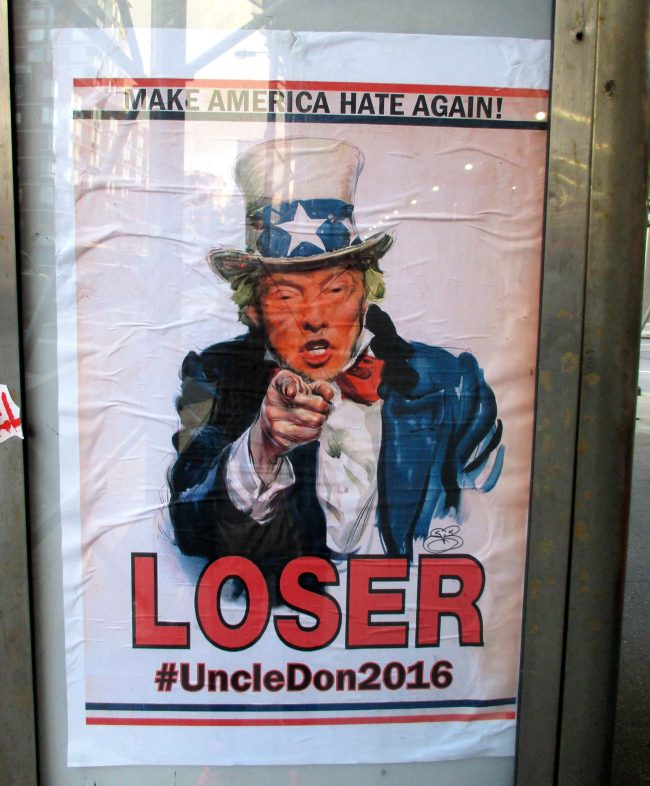 Uncle Don Loser Poster