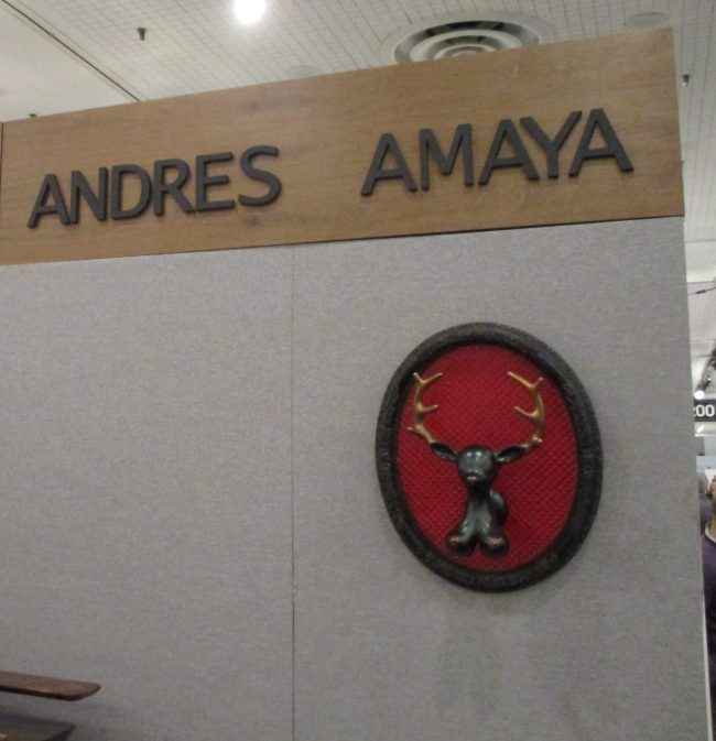 Andres Amaya Booth
