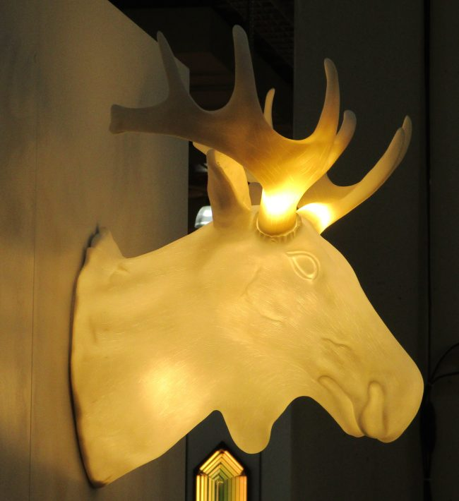 Moose Head Lamp