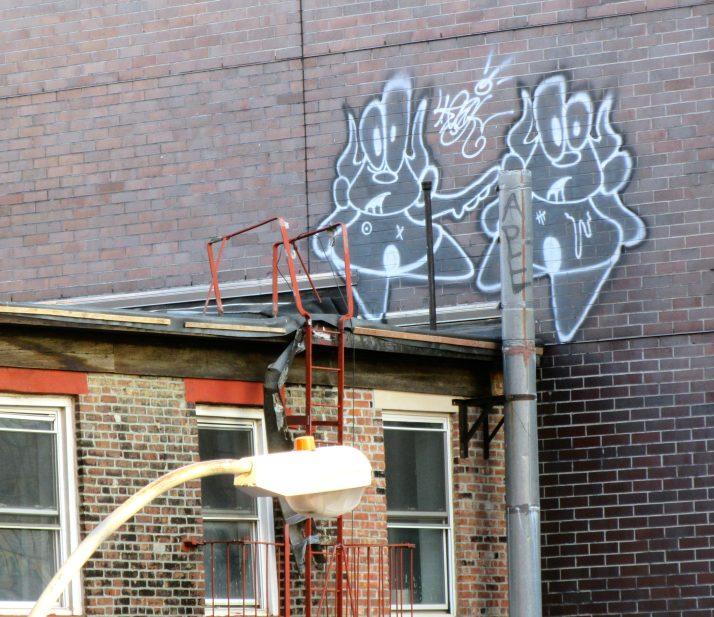 Pig People Graffiti