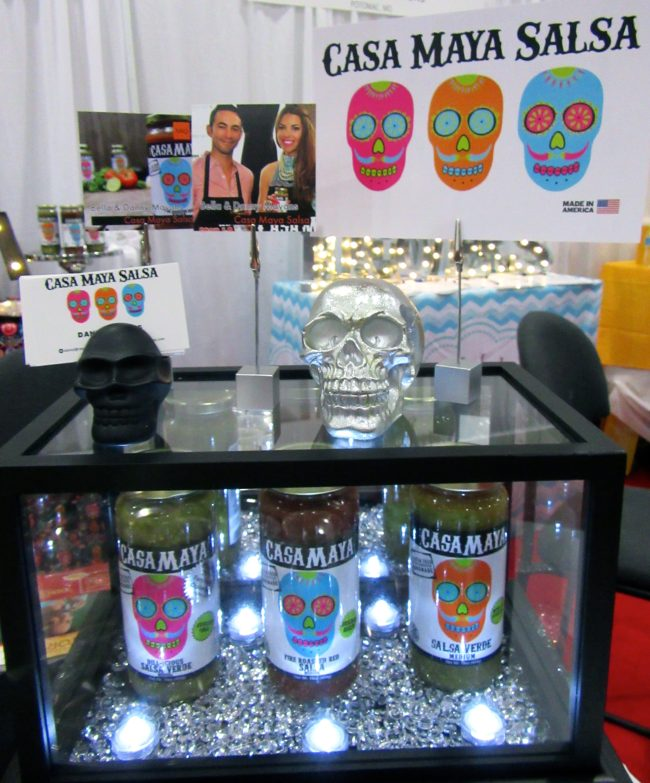Casa Maya Salsa Display