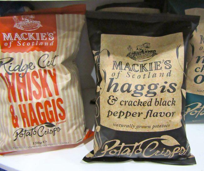 Mackies Haggis Crisps