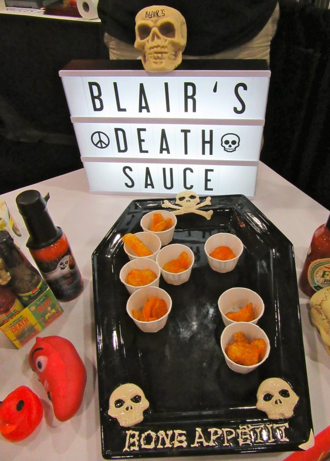 Blairs Death Sauce with Samples