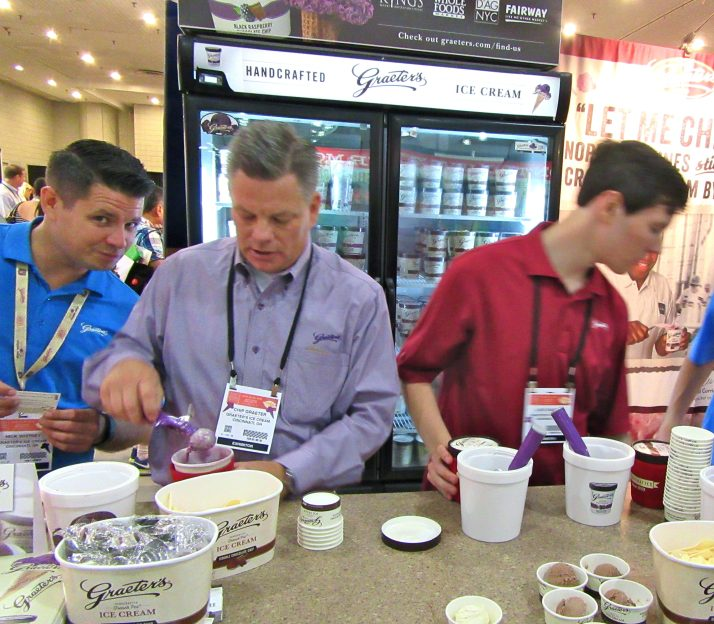 Graeters Ice Cream Booth
